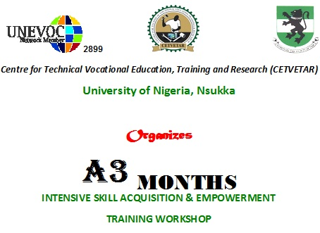 Intensive skill acquisition & empowerment training workshop